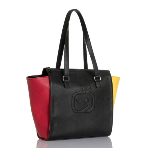 Black WonderWink Colorblock Tote