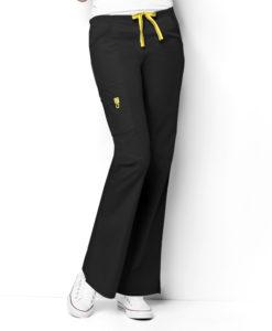 Black Romeo -6Pkt Flare Leg Pant