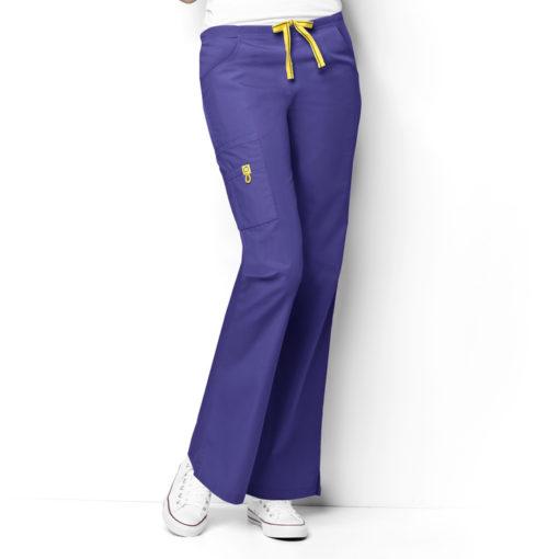 Lavender Romeo -6Pkt Flare Leg Pant