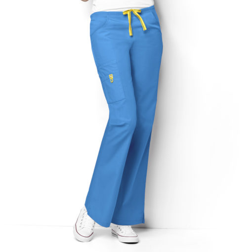 Malibu Blue Romeo -6Pkt Flare Leg Pant