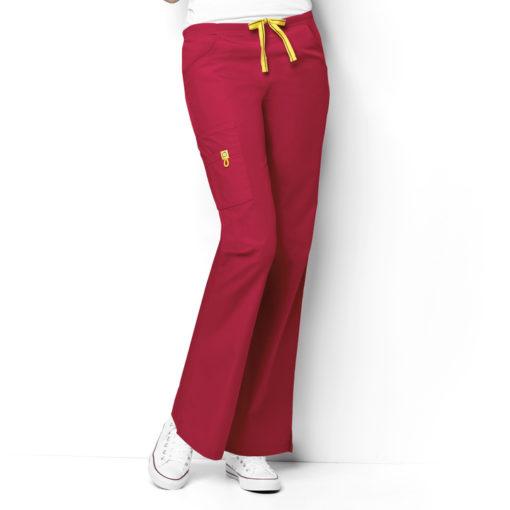 Red Romeo -6Pkt Flare Leg Pant