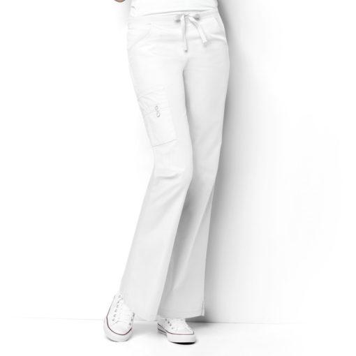 White Romeo -6Pkt Flare Leg Pant