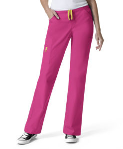 Hot Pink Victor - Straight Leg Pant