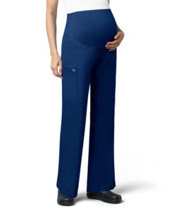 Navy Women's Maternity Cargo Pant