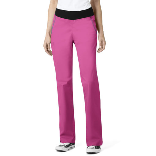 Hot Pink Women's Pull On Pant