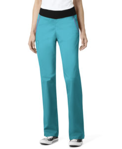 Teal Blue Women's Pull On Pant