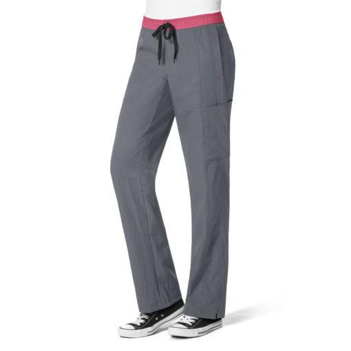 Pewter Straight Leg Cargo Pant