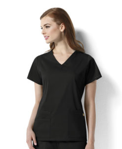 Black Charlotte - Women's V-Neck