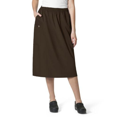 Chocolate WonderWORK Skirt
