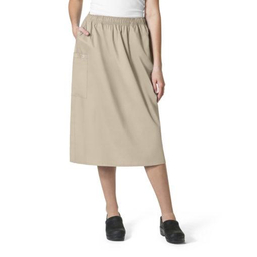 Khaki WonderWORK Skirt