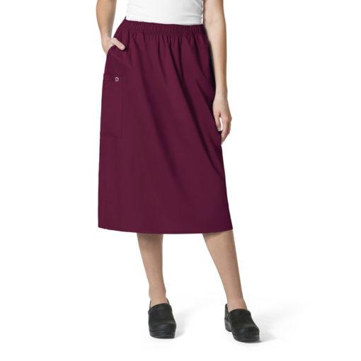 Wine WonderWORK Skirt