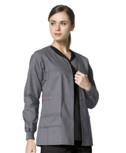Pewter Constance Snap Jacket