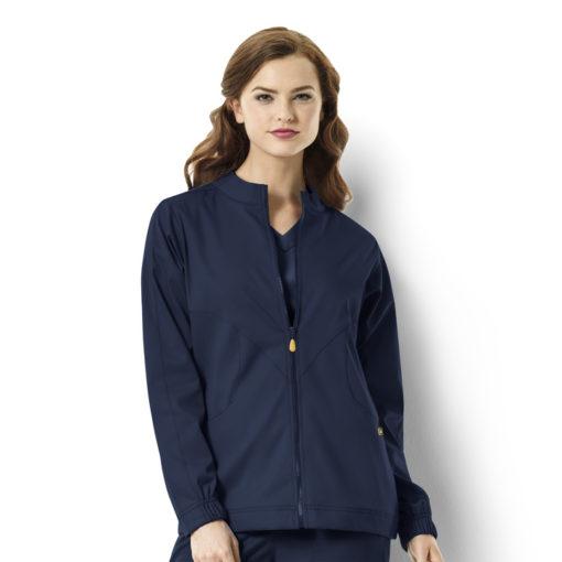 Navy Boston - Warm-up Style Jacket