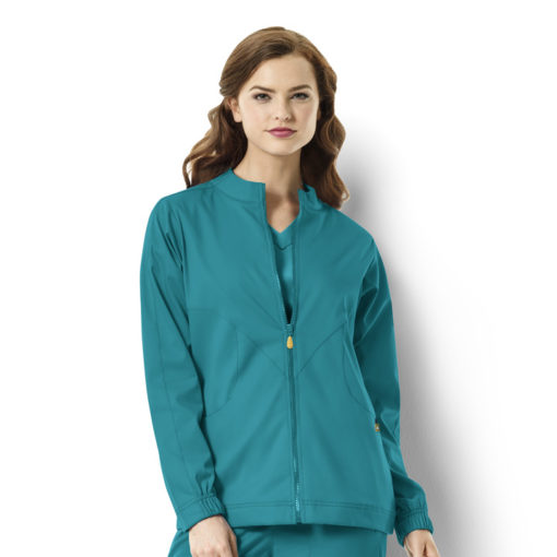 Teal Blue Boston - Warm-up Style Jacket