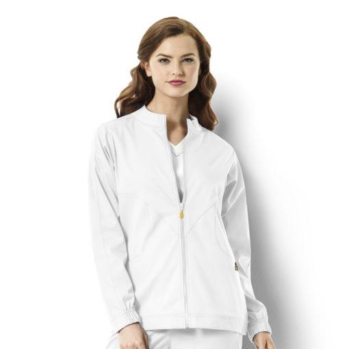 White Boston - Warm-up Style Jacket