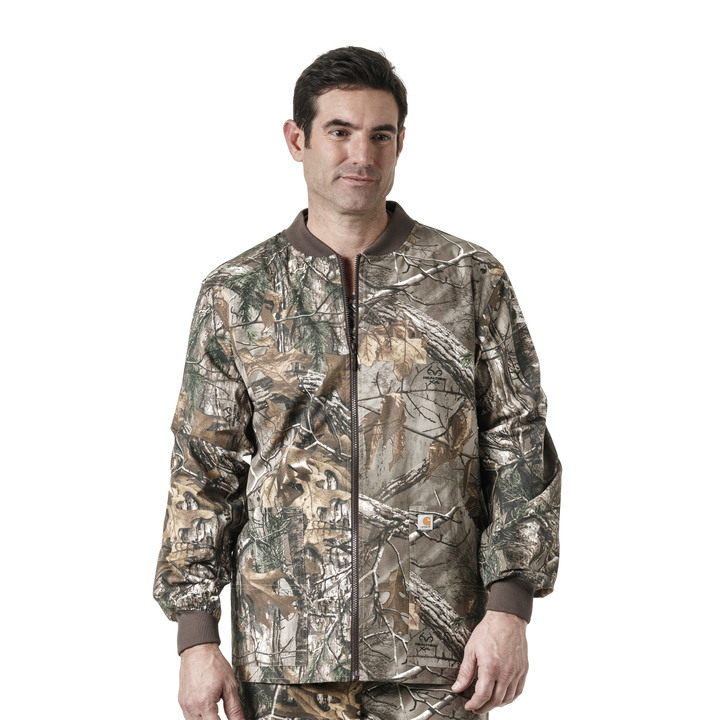 Realtree Xtra Mens Zip Front Prnt Jacket