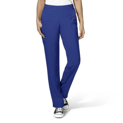 Galaxy Blue Women's Full Elastic Pant