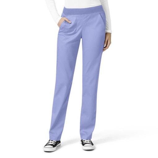 Ceil Blue Women's Knit Waist Cargo Pant