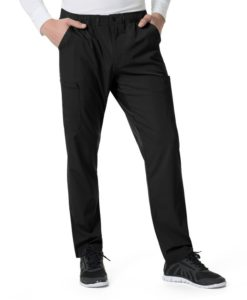 Black Men's Athletic Cargo Pant