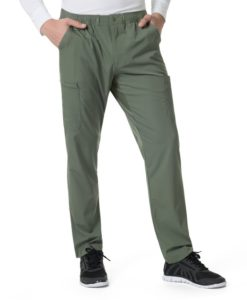 Olive Men's Athletic Cargo Pant